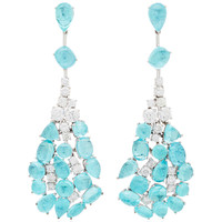 One-Of-A-Kind Paraibe Drop Earrings | Moda Operandi