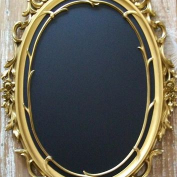 WEDDING IDEAS-Ornate Vintage Frame Magnet Board Chalkboard Chalk Board Wall Mirror Nursery Kitchen Wedding Menu Board For Her Decor