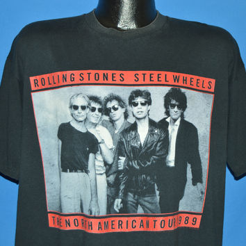 80s Rolling Stones Steel Wheels Tour t-shirt Extra Large