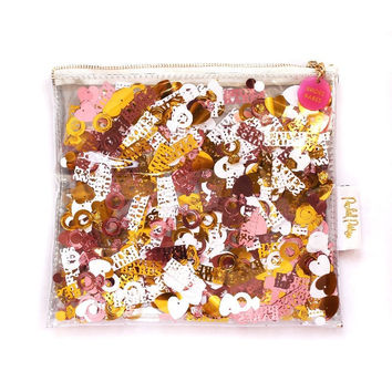Brides Babes Confetti Everything Pouch