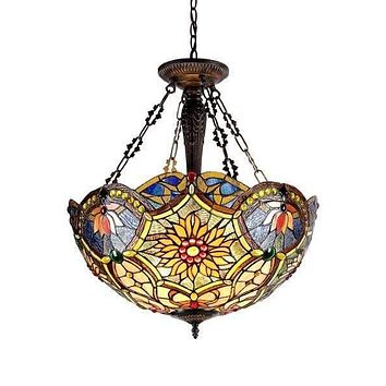 Detailed Fascinating Inverted Ceiling Pendant Fixture by