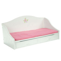 "Teamson Kids - Little Princess 18"" Doll Furniture - Trundle Bed-TD-0096A"