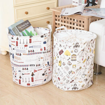 Laundry basket Multifunction Foldable sundires Baby Toys tools boxes bins Home Storage Organization clothing accessories product