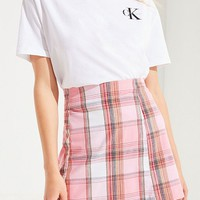 Urban Renewal Remnants Pastel Plaid Skirt | Urban Outfitters