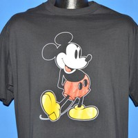 80s Classic Mickey Mouse Disney t-shirt Large