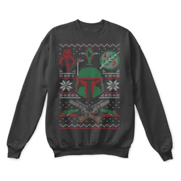 AUGUAU Hunting For The Holidays Star Wars Ugly Sweater