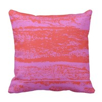 pink-red outdoor pillow