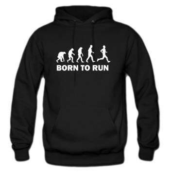 born to run hoodie