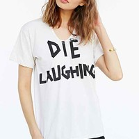 Pleasure Principle Die Laughing Tee- Grey