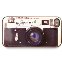 iPhone Case iPhone 4s vintage camera Zorki black by bomobob