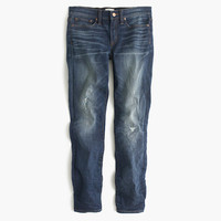 J.Crew Womens Toothpick Cone Denim Jean In Pacific Wash