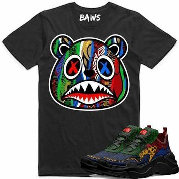 SWEATER BAWS Sneaker Tees Shirt to Match - Moneyatti Reps 25