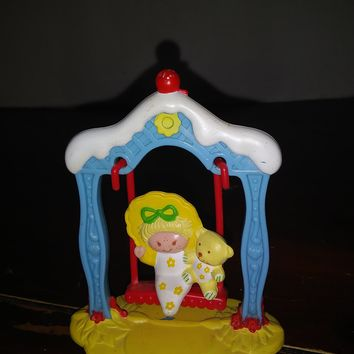 vintage strawberry shortcake mini miniature butter cookie deluxe pvc