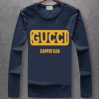 Boys & Men Fashion Casual Long Sleeve Shirt Top Tee