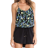heartLoom Jordin Romper in Black