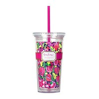 Tumbler with Straw in Wild Confetti by Lilly Pulitzer - FINAL SALE