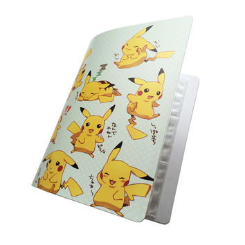 New Pokemon Card Album Book, Accommodating 324 Cards, Photos, Stamps, Pokemon Collection List, 2 Kinds of Cartoon Cover Hot Sale