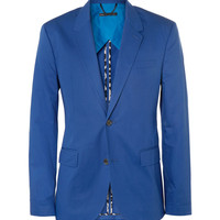 Marc by Marc Jacobs - Blue Cotton-Twill Suit Jacket | MR PORTER
