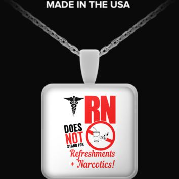 RN IS NOT - NECKLACE nc-rnisnotneck1