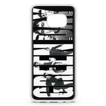 Green Day Facebook Cover Title Samsung Galaxy S7 Edge Case