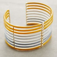 Elizabeth and James Jean Cuff Yellow All Jewelry