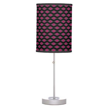 Pink Eye Table Lamp