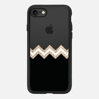 GATSBY TWINS BLACK TRANSPARENT by Monika Strigel iPhone 7 Hülle by Monika Strigel | Casetify