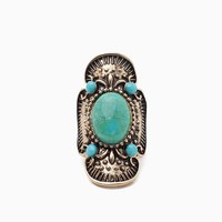Boho Metal and Cab Ring