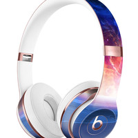 Galaxy Explosion over Calm Sea Shore Full-Body Skin Kit for the Beats by Dre Solo 3 Wireless Headphones