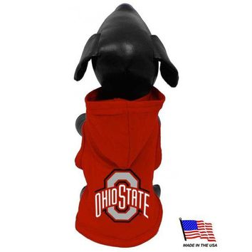 DCCKT9W Ohio State Buckeyes Pet Hoodie