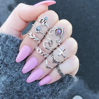 Shiny Jewelry New Arrival Gift Stylish Cross Ring [10794238919]
