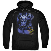 BATMAN AA/ARKHAM BANE-ADULT PULL-OVER HOODIE-BLACK