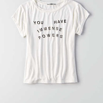 Don't Ask Why Fitted T-Shirt , White
