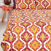 Boho Catch a Link of Sleep Quilt Set in Full, Queen by ModCloth