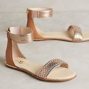 Anthropologie Yosi Samra Cambelle Sandals Sz 9 B - NIB