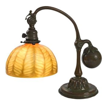 "Tiffany Studios New York ""Counter Balance"" Desk Lamp"