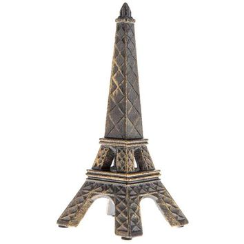 Black & Gold Iron Eiffel Tower Statue | Hobby Lobby