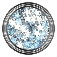 Blue Light Star Rhinestone