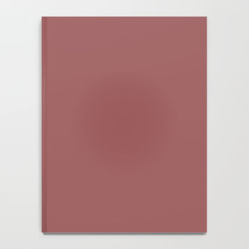 Marsala Notebook by spaceandlines