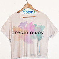 Dream Away Short Sleeve Crop Top | fresh-tops.com