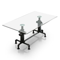 Juli Industrial Dining Table