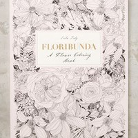 Floribunda Coloring Book by Anthropologie in Pink Size: One Size Books