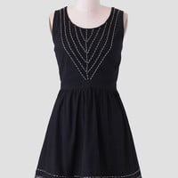Stargazing Beaded Dress