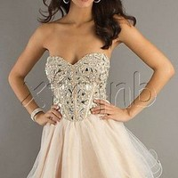 Short Prom Dress Cocktail Party Evening Formal Ball Gown Evening Dress