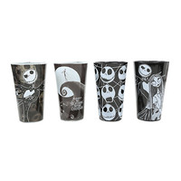 The Nightmare Before Christmas Jack Pint Glass Set