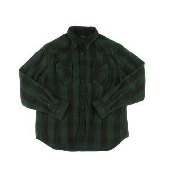 Polo Ralph Lauren Mens Plaid Flannel Button-Down Shirt