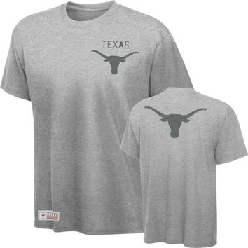 Texas Longhorns Dark Steel Box And One Vintage T-Shirt