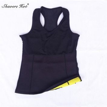 2017 NEW Hot Shapers Control Shapers Tank Top Super Stretch Neoprene Slimming Vests Training Corset Vests Waistcoats Gym Sports