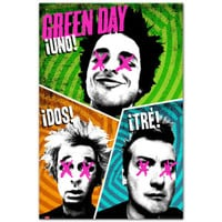 Green Day Uno Poster