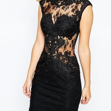 Forever Unique Perla Short Lace Dress